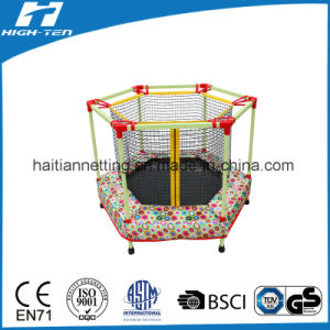 Hexagonal Mini Trampoline with Safety Net pictures & photos