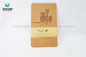 Custom Kraft Paper Printing Wedding Invitation Gift Cards pictures & photos