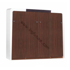 4 Doors Wooden Organized Office Filing Cabinet pictures & photos