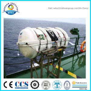 Ce Approved Davit-Lauched Inflatable Life Raft pictures & photos
