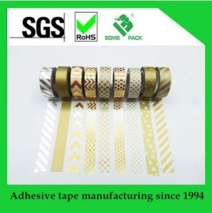 Customized Washy Adhesive Tape with Your Own Logo pictures & photos