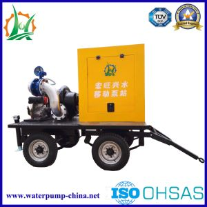 Trailer Mounted Mobile Fast in-Line Centrifugal Water Pump pictures & photos