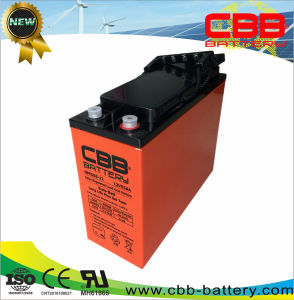 55ah 12V Front Terminal Gel Battery for Supply Power System pictures & photos