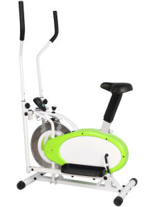 2 in 1 Elliptical Fan Bike Dual Cross Trainer Machine Exercise Workout Home Gym pictures & photos