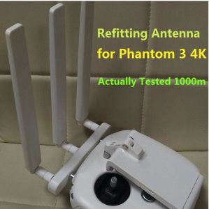 DIY Antenna Range Extender for Dji Phantom3 4k Version