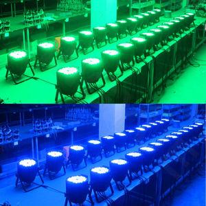 54PCS 3W RGB Tri Color LED PAR64 pictures & photos