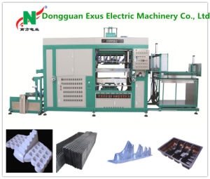 2016 High Speed Automatic Plastic Vacuum Thermoforming Machine for PS /Pet/ PVC /PP/PE Material