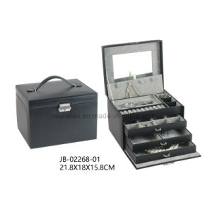 PU Packing Storage Display Art Beauty Jewelry Case Jewellery Box pictures & photos