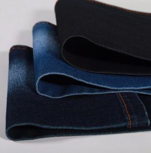 Indigo Twill Cotton Polyester Spandex Viscose Denim Fabric 10oz pictures & photos