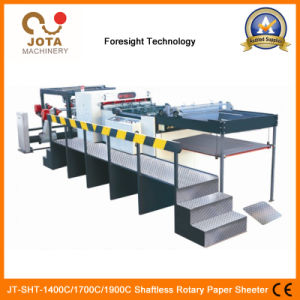 Hot Product 2/4/6 Shaftless Unwinder Rotary Paper Sheeting Machine Crosscutting Machine pictures & photos
