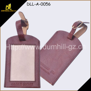 Genuine Leather Luggage Labels pictures & photos