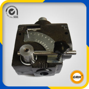 2 Levers Hydraulic Pump Directional Control Spool Valve for Crawler Loader Crane pictures & photos