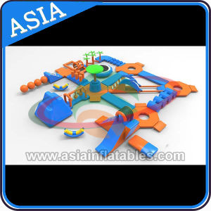 Amusement Park Inflatable Floating Water Park, Inflatable Water Obstacle Course Park pictures & photos