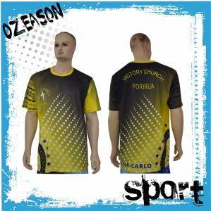 Promotional Cusotm Sublimation Men/Women Running T-Shirt (T012) pictures & photos