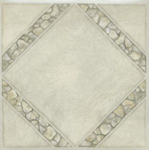 Marble Stone PVC Vinly Floor Tiles with Self Stick pictures & photos