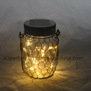 Elegant Safe Outdoor Using Rechargeable Solar Lantern with Warm White Flickering pictures & photos