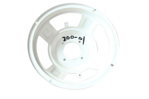 Classical White Design 8 Inch High Quality Subwoofer Parts PA Speaker Frame pictures & photos