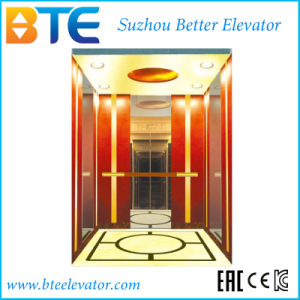 1600kg Mrl Vvvf Control Passenger Elevator with Gearless Machine