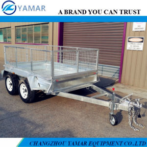 Tandem Axle Cargo Trailer with Cage pictures & photos