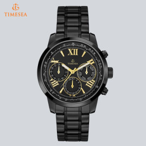 Fashion Men′s Stainless Steel Waterproof Wrist Watch 72875 pictures & photos