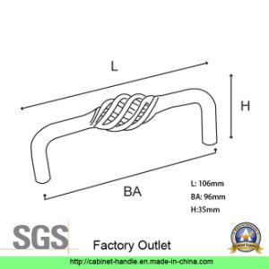 Factory Direct Sale Steel Kitchen Cabinet Furniture Hardware Wardrobe Dresser Drawer Pull Handle (UC 04) pictures & photos