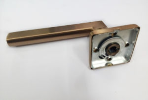 Stainless Steel 304 PVD Rose Gold Finished Door Handle pictures & photos