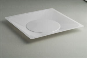 Shape 4 Easylife Various Disposable PS Plastic Square Plate pictures & photos