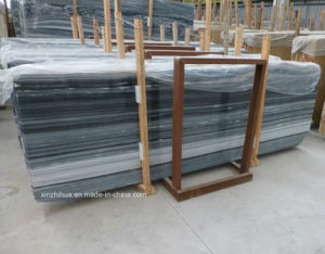 Black Mountain White Marble Slabs for Tiles/Countertop/Vanity Top/Wall Tiles pictures & photos