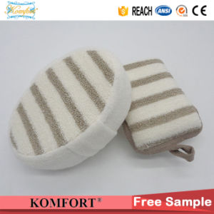 Wholesale Bamboo Fiber SPA Product Baby Shower Gifts India Sponge Glove pictures & photos