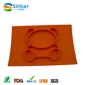 Wholesale Baby Feeding Silicone Placemat Plus Plate in One pictures & photos
