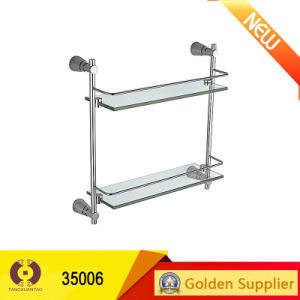 Hot Sales Bathroom Accressories Sanitary Ware Bathroom Shelves (35006) pictures & photos