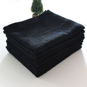 Egyptian Cotton Organic Terry Hand Shop Black Towels