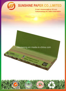 1 1/4 Size with 12.5GSM Brown Color Cigarette Paper pictures & photos