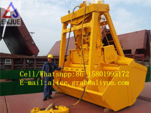 Hydraulic Radio Remote Controlled Grapple with Clam Shell pictures & photos