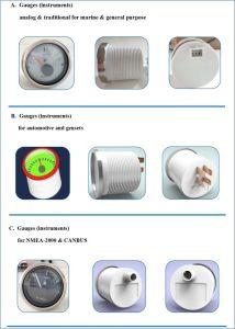 52mm Engine Spare Parts Digital Rpm Tachometer pictures & photos
