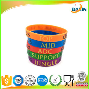 Custom Silicone Wristband/Bracelet for Lol pictures & photos