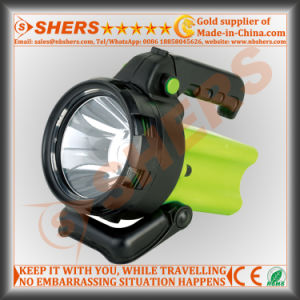 Rechargeable Cordless High Power 5W Spotlight for Searching pictures & photos