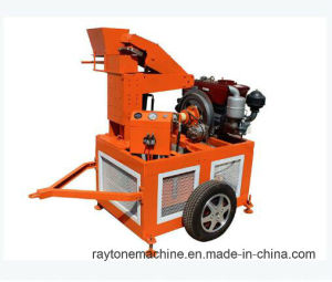 Qts1-20 Mobile Diesel Clay Brick Making Machine Soil Block Machine pictures & photos