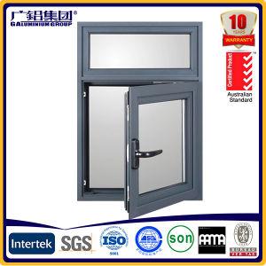 Aluminium and Door Swing Casement Window with Blades pictures & photos