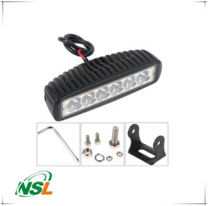 18W LED Work Light Bar Car Truck SUV Ute ATV off Road Lamp Car Work Light Bar pictures & photos