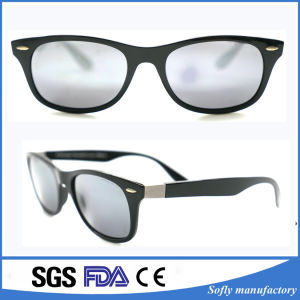 Women Men Polarized Sunglasses Vintage with Logo Printing for Wholesale pictures & photos