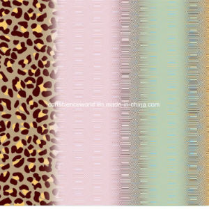 100%Polyester Leopard Pigment&Disperse Printed Fabric for Bedding Set pictures & photos