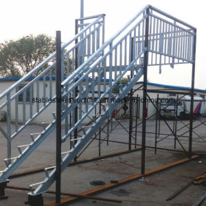 Galvanized Outdoor Steel Staircase For Sale