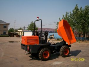 3.0ton 4WD Bucket Capacity 1.5m3 Mini Site Dumper pictures & photos