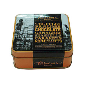 Chocolate Tin Box (ZR-122)