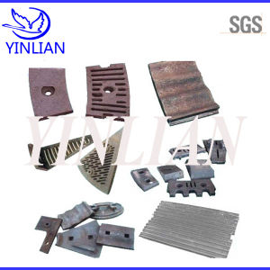 Wear Resistant Steel Spare Parts for Mining Crusher Machine