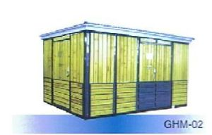Box Type Combined Substation Wooden Strip Enclosure Ghm-02 Box-Type pictures & photos