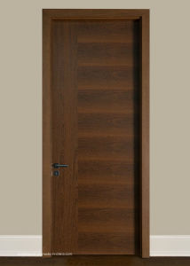 French Solid Wood Interior Doors for Internal Main Entrance pictures & photos