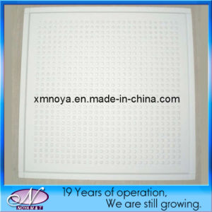 Fireproof Lightweight Fiberglass Plaster Acoustic Ceiling Board for Decorative pictures & photos