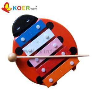 Wooden Toys - 5-Tone Xylophone (LX080A)